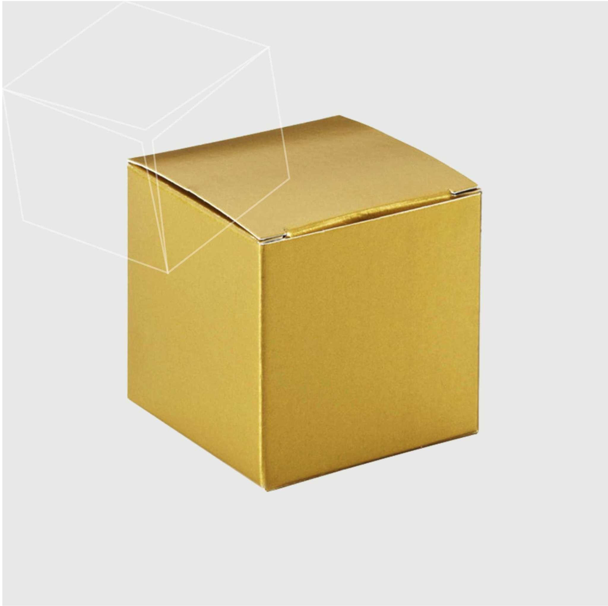Gold Foil Box