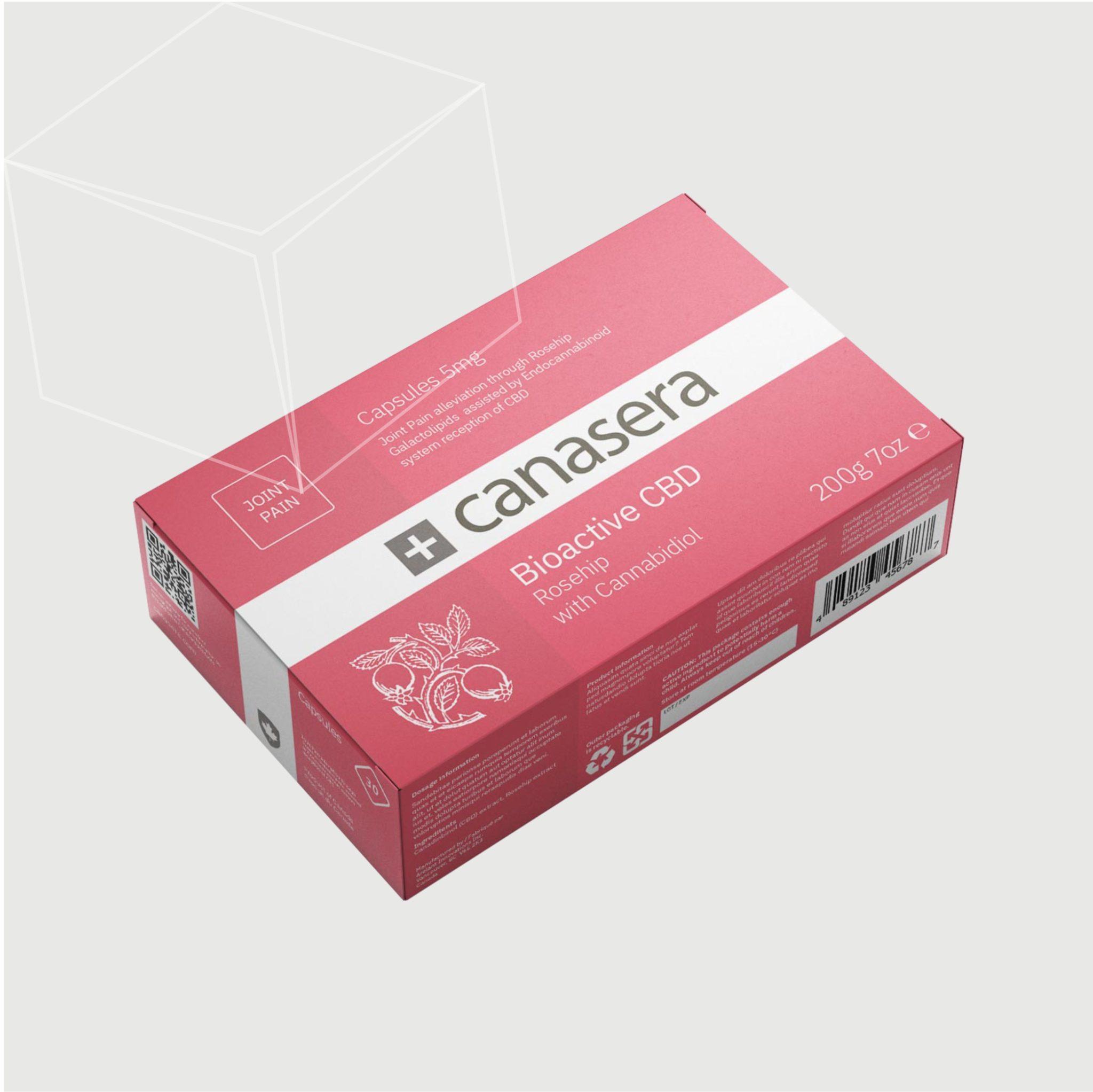 CBD Capsules Boxes