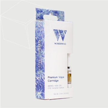 CBD Vape Oil Cartridge Boxes
